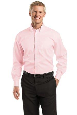 RH60 red house-dobby non-iron button-down shirt