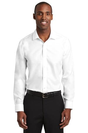 red house slim fit pinpoint oxford non-iron shirt rh620