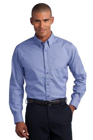 red house-mini-check non-iron button-down shirt rh66