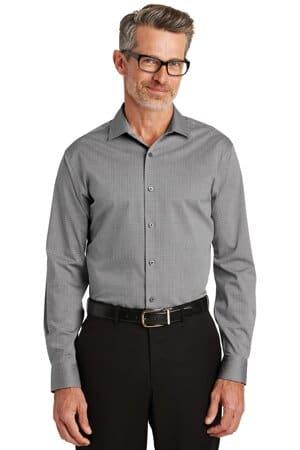 RH81 red house graph check non-iron shirt