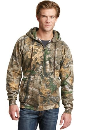 russell outdoors realtree full-zip hooded sweatshirt ro78zh