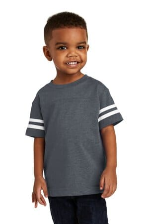 rabbit skins toddler football fine jersey tee rs3037