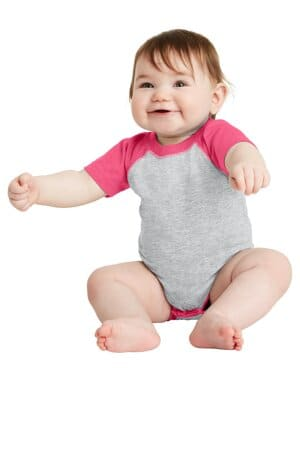 rabbit skins infant baseball fine jersey bodysuit rs4430