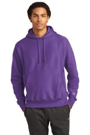 S101 champion reverse weave hooded sweatshirt