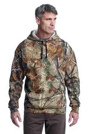 russell outdoors-realtree pullover hooded sweatshirt s459r