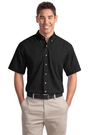 S500T port authority short sleeve twill shirt s500t