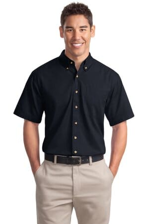 S500T port authority short sleeve twill shirt s500t