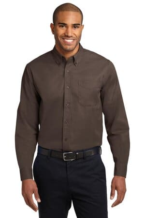 S608ES port authority extended size long sleeve easy care shirt