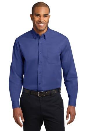 S608 port authority long sleeve easy care shirt s608