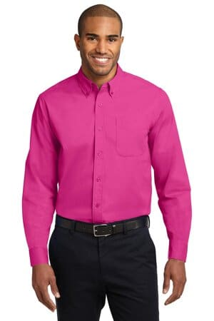S608 port authority long sleeve easy care shirt s608