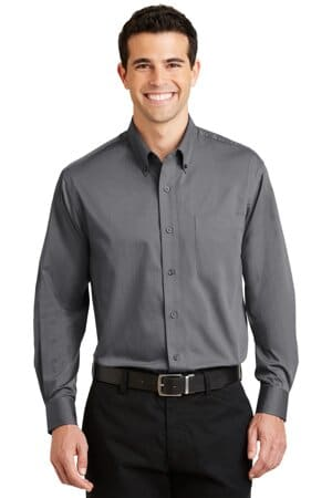 port authority tonal pattern easy care shirt s613