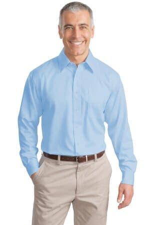 TLS638 port authority tall non-iron twill shirt tls638