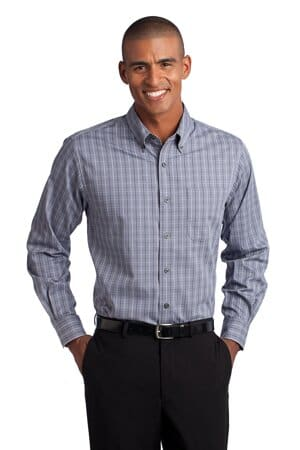 S642 port authority tattersall easy care shirt s642