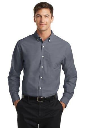 S658 port authority superpro oxford shirt s658