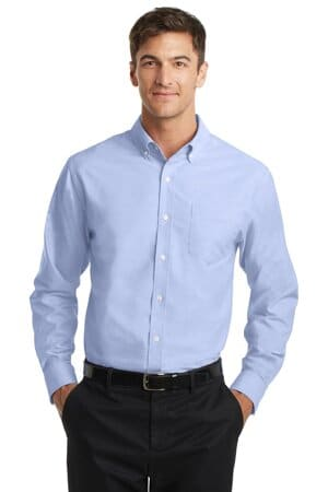S658 port authority superpro oxford shirt s658