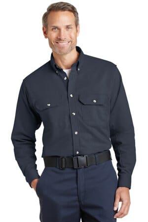 bulwark excel fr comfortouch dress uniform shirt slu2