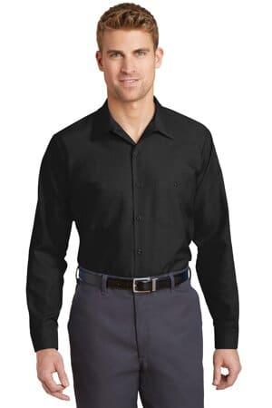 SP14 red kap long sleeve industrial work shirt sp14