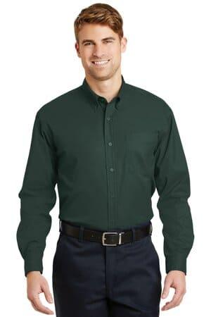 cornerstone-long sleeve superpro twill shirt sp17