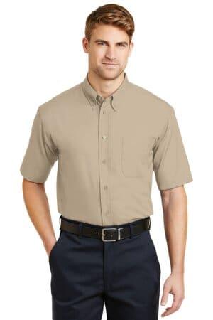 cornerstone-short sleeve superpro twill shirt sp18