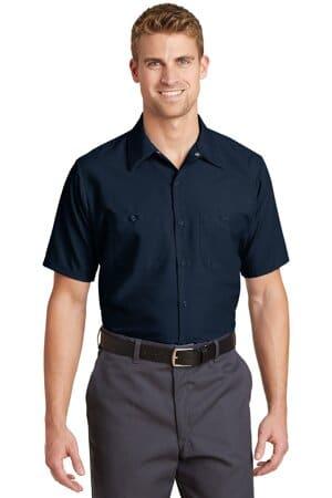 SP24 red kap short sleeve industrial work shirt sp24