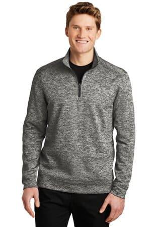 ST226 sport-tek posicharge electric heather fleece 1/4-zip pullover