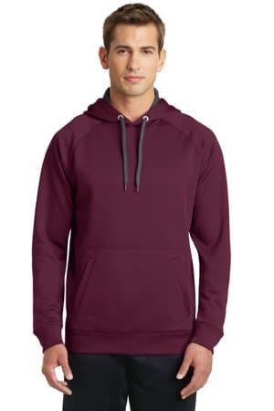 ST250 sport-tek tech fleece hooded sweatshirt