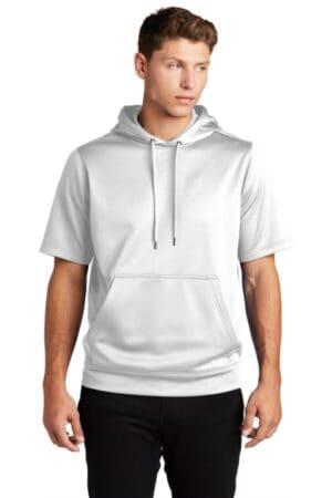 ST251 sport-tek sport-wick fleece short sleeve hooded pullover