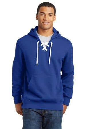 ST271 sport-tek lace up pullover hooded sweatshirt