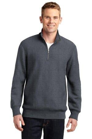 sport-tek super heavyweight 1/4-zip pullover sweatshirt st283