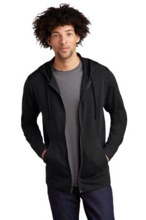 ST293 sport-tek posicharge tri-blend wicking fleece full-zip hooded jacket