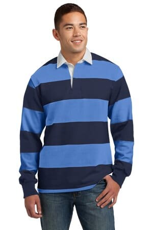 ST301 sport-tek classic long sleeve rugby polo st301