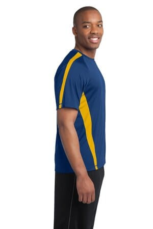 sport-tek colorblock posicharge competitor tee st351