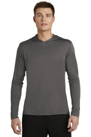 sport-tek posicharge competitor hooded pullover st358