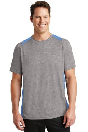 ST361 sport-tek heather colorblock contender tee st361