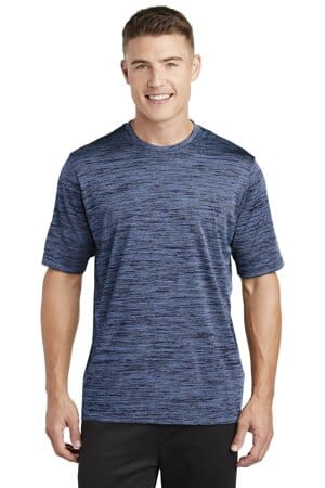 ST390 sport-tek posicharge electric heather tee st390