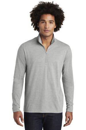 ST407 sport-tek posicharge tri-blend wicking 1/4-zip pullover