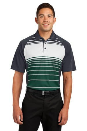 ST600 sport-tek dry zone sublimated stripe polo st600