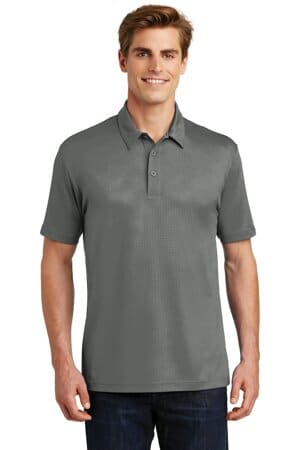 ST630 sport-tek embossed posicharge tough polo st630