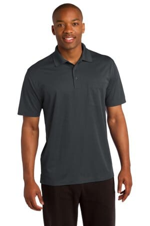 sport-tek micropique sport-wick pocket polo st651