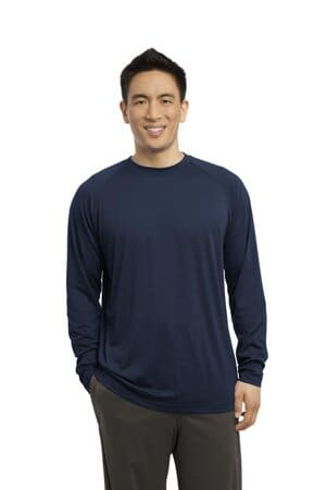 sport-tek long sleeve ultimate performance crew st700ls