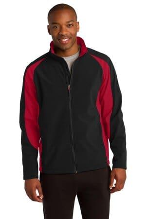 ST970 sport-tek colorblock soft shell jacket