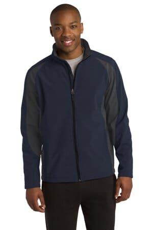 ST970 sport-tek colorblock soft shell jacket st970