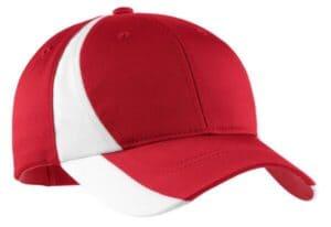 YSTC11 sport-tek youth dry zone nylon colorblock cap