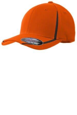 sport-tek flexfit performance colorblock cap stc16
