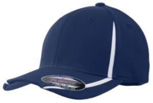 STC16 sport-tek flexfit performance colorblock cap