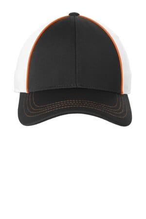 STC29 sport-tek piped mesh back cap stc29