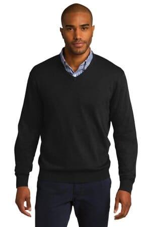 SW285 port authority v-neck sweater sw285