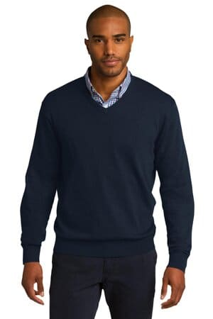 SW285 port authority v-neck sweater sw285