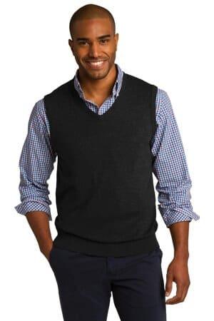 SW286 port authority sweater vest sw286