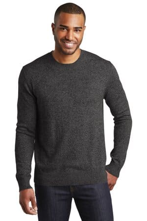 SW417 port authority marled crew sweater sw417